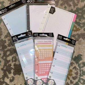 The Happy Planner mini sized paper inserts